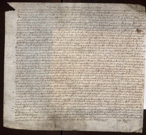 Court record between two Flicks, mentioning Nathaniel Flick, Anthony Flick, Samuel Flick, in Suffolk, in the year 1650.