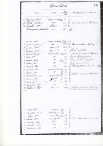 Naval Record of HMS Dauntless, mentioning Jasper Flick, during Crimean War.